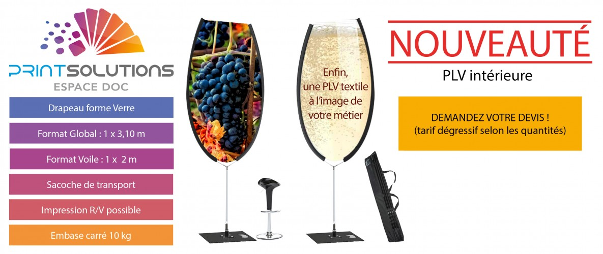 PPLV STAND CHAMPAGNE VIN